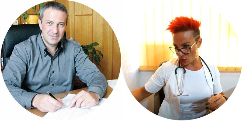Pokret ujedinjenih fantoma, predsednik opštine Knjaževac kadrira u poslastičarnici